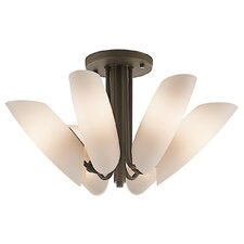 <strong>Kichler</strong> Stella 6 Light Semi Flush Mount