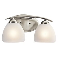 Caleigh Vanity 2 Light Vanity Light