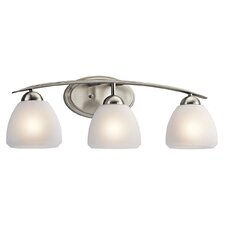<strong>Kichler</strong> Caleigh 3 Light Vanity Light