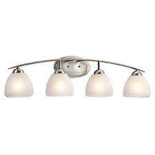 <strong>Kichler</strong> Caleigh 4 Light Vanity Light