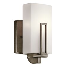 <strong>Kichler</strong> Leeds 1 Light Wall Sconce