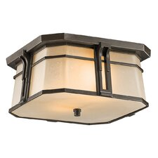 North Creek 2 Light Flush Mount