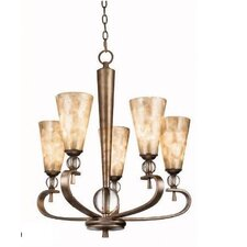 <strong>Kichler</strong> Roma Notte 5 Light Chandelier