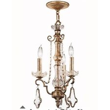 Gracie 3 Light Chandelier