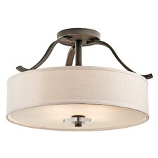 Leighton 4 Light Semi Flush Mount