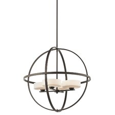 Olsay 4 Light Chandelier