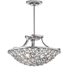 Liscomb 3 Light Semi Flush Mount