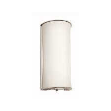 "12"" One Light Wall Sconce in Polished Nickel"