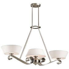 Livingston 3 Light Linear Chandelier