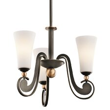 <strong>Kichler</strong> Clermont 3 Light Chandelier