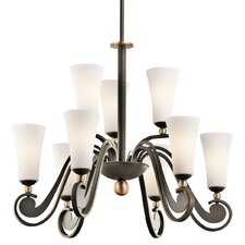 <strong>Kichler</strong> Clermont 9 Light Chandelier