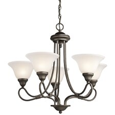 <strong>Kichler</strong> Stafford 5 Light Chandelier