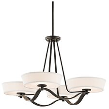 <strong>Kichler</strong> Glissade 4 Light Chandelier