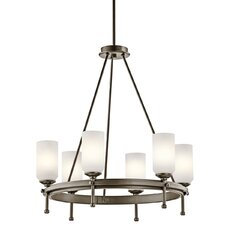 <strong>Kichler</strong> Ladero 6 Light Chandelier