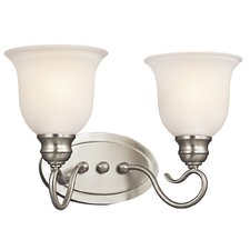 <strong>Kichler</strong> Tanglewood 2 Light Bath Vanity Light
