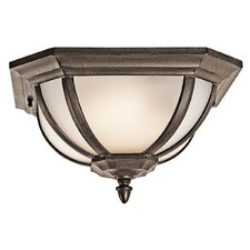 Ralston 2 Light Outdoor Flush Mount