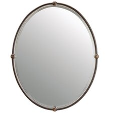 Circolo Mirror in Olde Bronze
