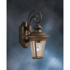<strong>Kichler</strong> Eau Claire 1 Light Outdoor Wall Sconce