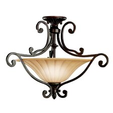 Cottage Grove 2 Light Semi Flush Mount