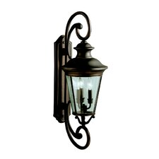 Eau Claire 3 Light Outdoor Wall Sconce