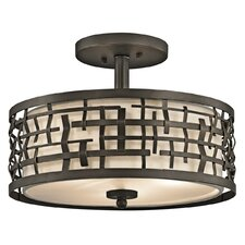 Loom 2 Light Semi Flush/Pendant