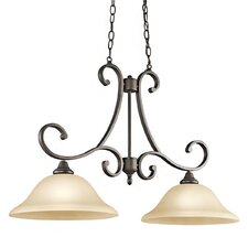 <strong>Kichler</strong> Monroe 2 Light Island Chandelier