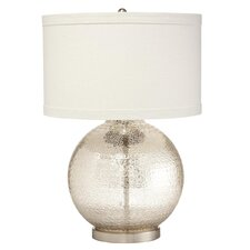 "Soleil Mercury 23.5"" H Table Lamp with Drum Shade"