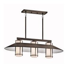 <strong>Kichler</strong> Tavistock 3 Light Outdoor Chandelier