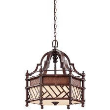 Rum Cove 3 Light Foyer Pendant