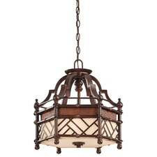 Rum Cove 4 Light Semi-Flush Pendant