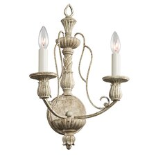 Hayman Bay 2 Light Wall Sconce