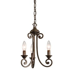 Mithras 3 Light Chandelier