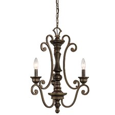 <strong>Kichler</strong> Mithras 3 Light Mini Chandelier