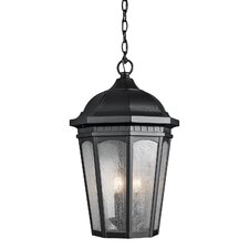 Courtyard 3 Light Outdoor Hanging Lantern