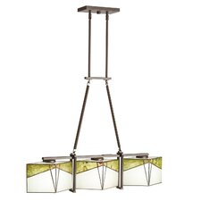 Bayberry 3 Light Chandelier Linear