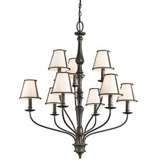 <strong>Kichler</strong> Donington 9 Light Chandelier