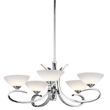<strong>Kichler</strong> Brooklands 5 Light Chandelier