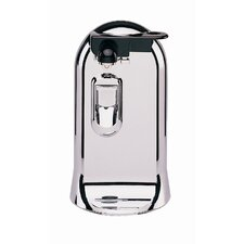 3-in-1 Can Opener, Knife Sharpener and Bottle Opener in Silver