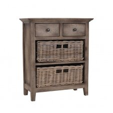 Baker 2 Drawer and 2 Basket Cabinet