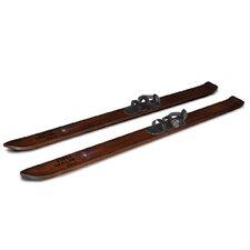 Decorative Wooden Ski Boards (Set of 2)