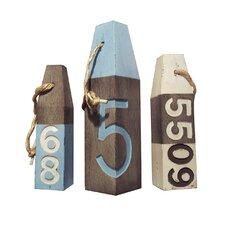 Decorative 3 Piece Floats Deco Set