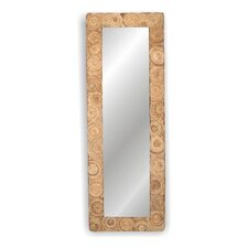 Buzz Large Rectanglular Abaca Mirror