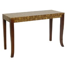 Habitat Console Table in Medium Brown