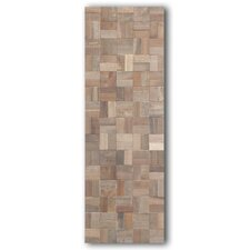 Mosaic Wood Rectangle Wall Panel