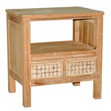 <strong>Jeffan</strong> New Hampton 2 Drawer End Table
