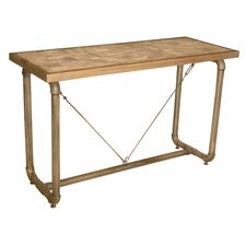 Trapeze Console Table