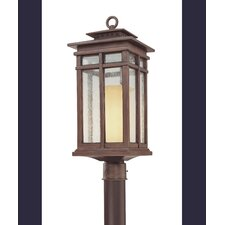 <strong>Troy Lighting</strong> Cottage Grove 1 Light Outdoor Post Lantern