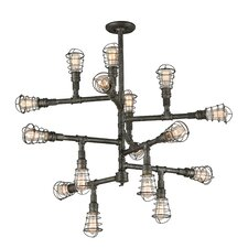 Conduit 16 Light Chandelier