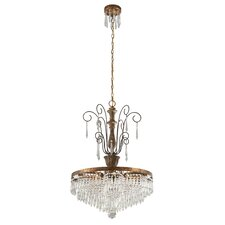 Le Marais 6 Light Crystal Chandelier