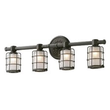 Mercantile 4 Light Vanity Light